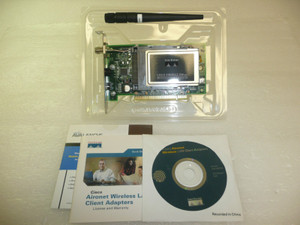 Cisco systems pci wireless lan adapter