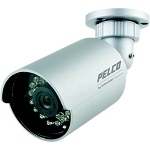 NEW Pelco BU4-IRF4-4 Entry-Level Integrated IR Vandal RES. Bullet Camera (NTSC)