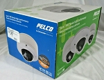 NEW Pelco IMES19-1S Sarix Indoor D/N Network Mini Dome Camera, 3-9mm Lens