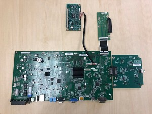715G5936-M3A-000-005K Main Board for NEC E905, WITH AUXILIARY BOARDS
