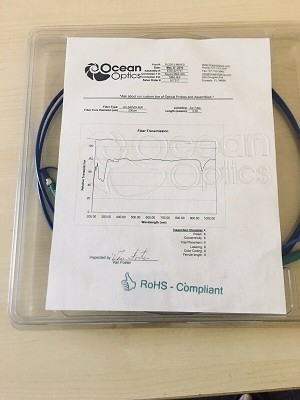NEW OCEAN OPTICS  PL200-2 MIXED UV-SR/VIS-NIR 200um 2meter