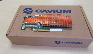 CAVIUM NITROX V GC-CN5690-550-NHB-G SECURITY PROCESSOR BOARD - FOR PARTS ONLY
