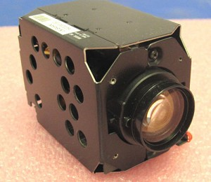 HITACHI VK-S454N 23X PROGRESSIVE SCAN CCD CAMERA WIDE D.1/4 TYPE EXVIEW NTSC