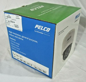 NEW PELCO FD2-IRV10-6 Color High Resolution Indoor Dome Camera