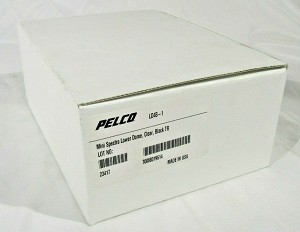 NEW PELCO LD4B-1 MINI SPECTRA LOWER DOME CLEAR W/ BLACK TRIM