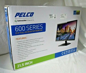 "NEW PELCO PMCL622 21.5"" LED BACKLIT 1080P DESKTOP MONITOR"
