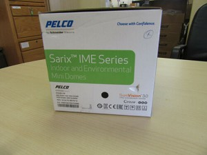 NEW Pelco IME222-1IS 2 Megapixel Network Indoor Dome Camera, 9-22mm Lens