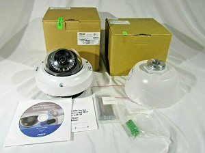 NEW Pelco IMP319-1ERP Sarix 3 Megapixel Outdoor IR Network Mini Dome Camera Kit