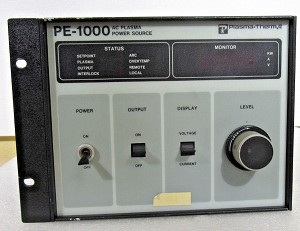 PLASMA-THERM INC. PE-1000 AC PLASMA POWER SOURCE - FOR PARTS